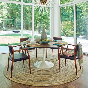 Capel Round Rugs